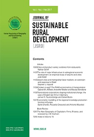 Journal of Sustainable Rural Development
